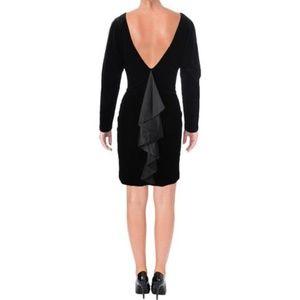 NWT Lauren Ralph Lauren Velvet Open Shoulder Dress
